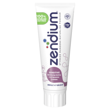 Zendium Sensitive Tannkrem 75ml Front