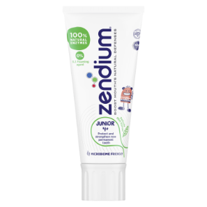 Zendium Junior 4+ år Tannkrem 50ml Front